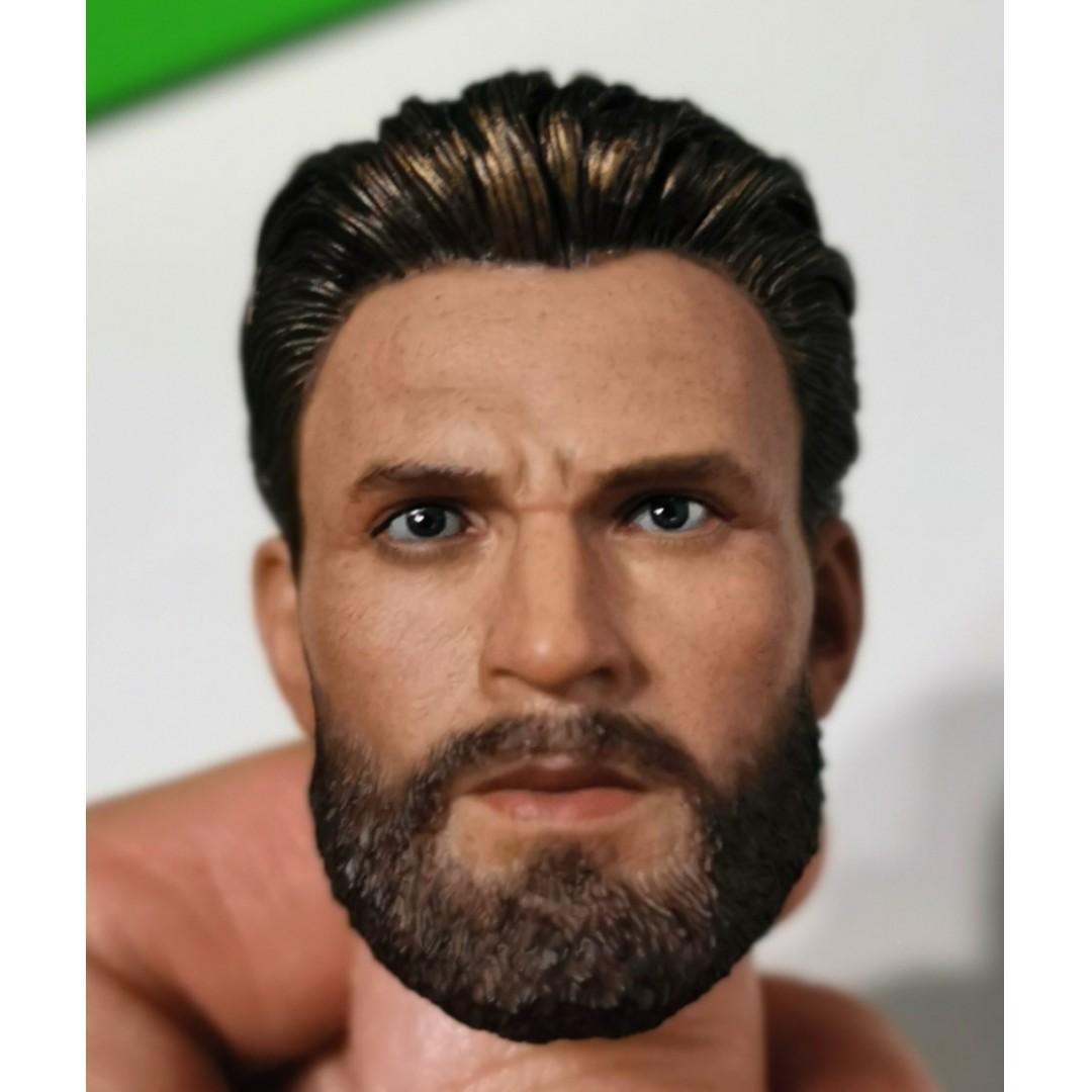 1/6th Captain America Steve Rogers headsculpt non hot toys Avengers End game