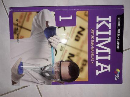 Buku pelajaran KIMIA SMA/MA kelas X