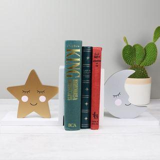 DISPLAY CLEARANCE Moon&star bookend