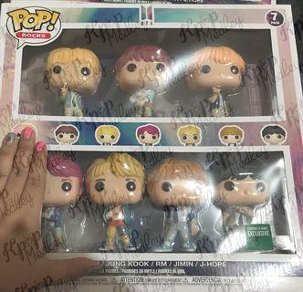 (ON HAND) Official BTS Funko Pop Barnes and Noble Set