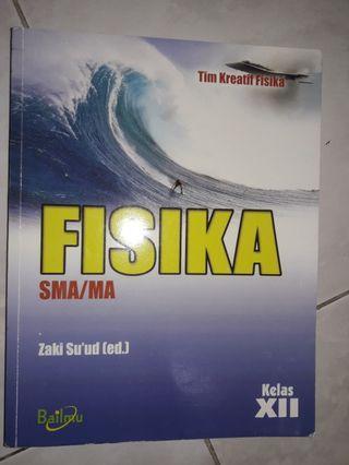 Buku pelajaran FISIKA SMA/MA kelas XII