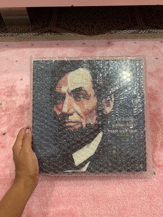 🚚 Abraham Lincoln Pop art