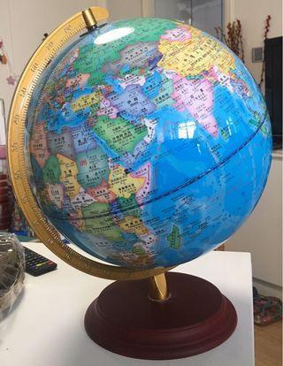 地球儀 擺設 學習 燈 世界地圖