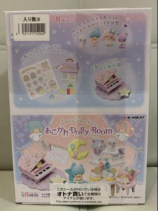 re-ment rement sanrio little twin stars 雙子星 littletwinstars玩具房(適合土人、森林家族作配件)