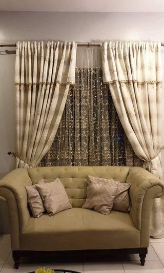 Living Room Curtain Set