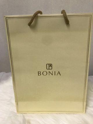 Bonia Paper Bag