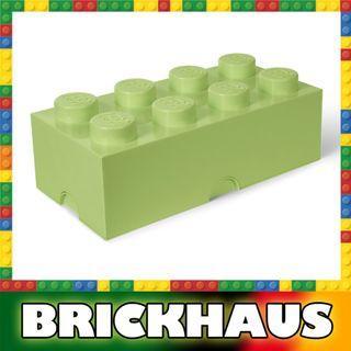 樂高 LEGO 4004 嫩綠色 Spring Green 方形儲物箱 Storage Brick 8