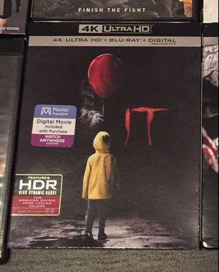 IT 小丑回魂 4K + Blu-ray (美版中字)