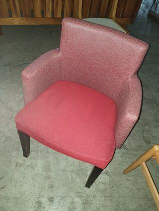 Used Cafe Restaurant Single Chair Armchair 25pcs Red/Blue
