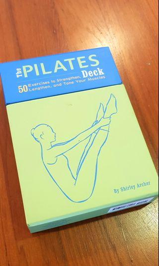 PILATES INSTRUCTION DECK BY SHIRLEY ARCHER