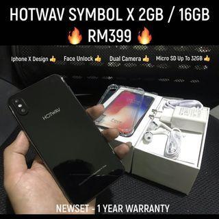 Hotwav Symbol X ( Iphone X Design )