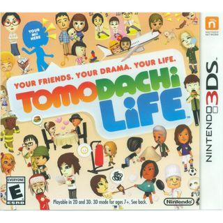 [NEW NOT USED] 3DS TOMODACHI LIFE Nintendo Misc Games