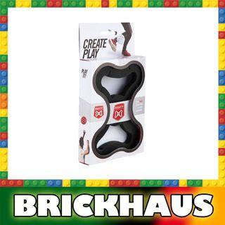 FOOOTY 黑色 Black 可砌可拆可踢可玩的組合球 building foldable ball