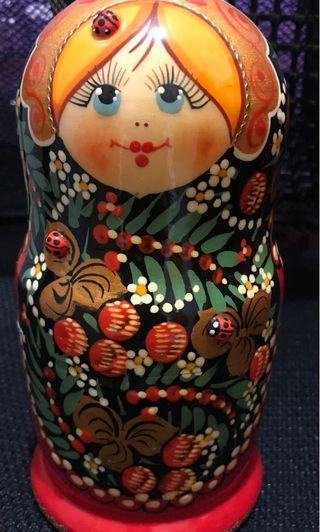 Cute Russian Stacking Dolls