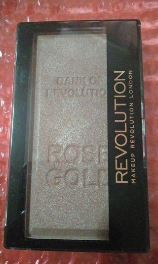 Revolution rose gold ingot highlighter #GayaRaya