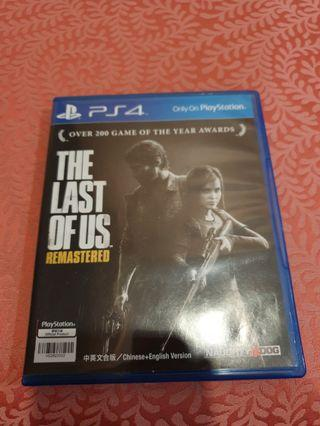 The Last Of Us Remastered (PS 4)