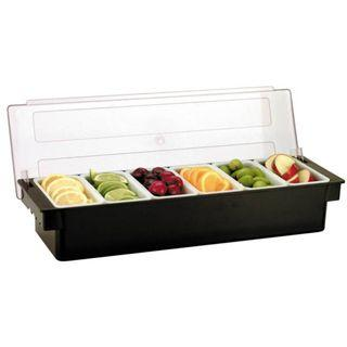★Good Stuff★6 Compartments★Food Condiment Sauce Garnish Topping Dispenser holder tray container #EndgameYourExcess