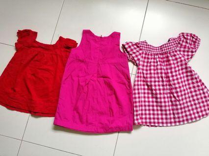 🚚 1 dress and 2 tops bundle sales