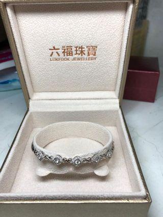 鑽石手鐲六福珠寶(已翻新)