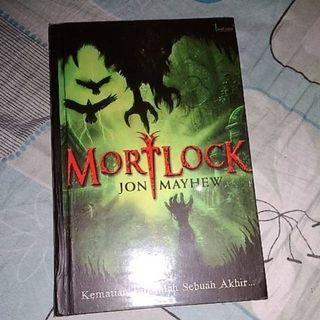 Novel Mortlock karya Jon Mayhew