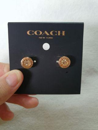 🚚 Authentic Coach earrings