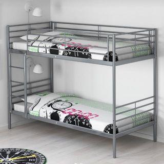 90% New Ikea Bunk Bed (90x200cm)