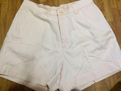 Orig Giordano Light Pink Highwaist Shorts
