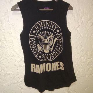 黑色背心 Ramones Shirt