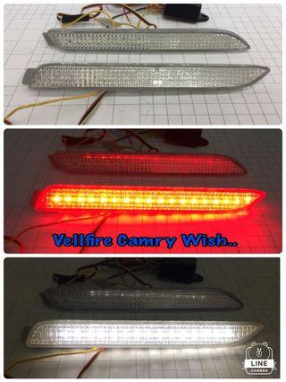 Toyota Reflector with led light
