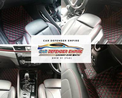 BMW X1 F48 CUSTOM MADE TO FIT CAR MAT