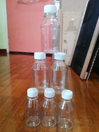 100ml Plastic Travel Bottles