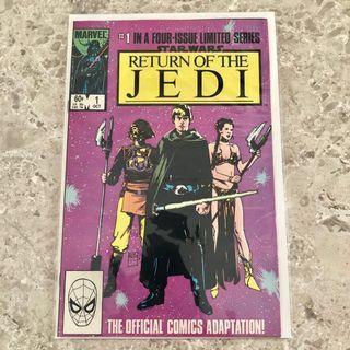 🚚 Star Wars: Return of the Jedi #1 (Year 1983) comics