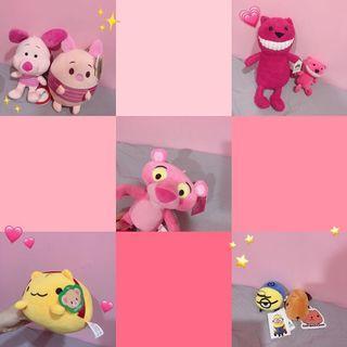 粉紅系的娃娃 可單帶 可全帶❤️