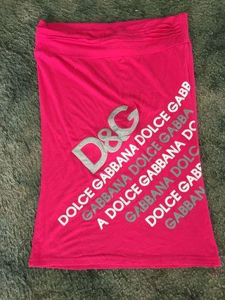 D & g pink top to fit 10-12