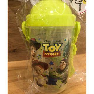 【全新現貨】日本帶回 迪士尼 DISNEY 玩具總動員 兒童 水壺 背帶水壺 塑膠水壺