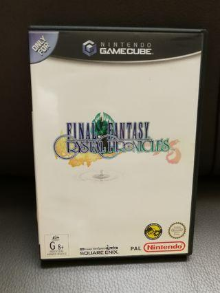 Game Cube Final Fantasy Crystal Chronicles GameCube