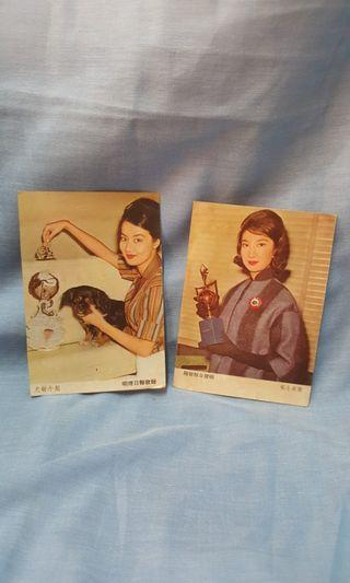 Vintage photo Lucille You,Betty Loh