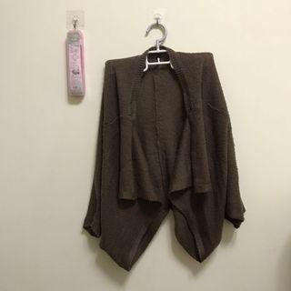 🚚 2way穿法 針織罩衫外套