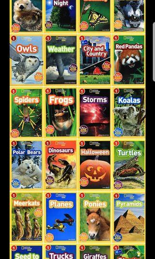 National Geographic Kids level 1