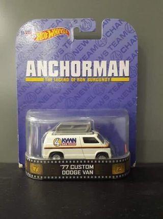 Hot Wheels '77 Custom Dodge Van ANCHORMAN