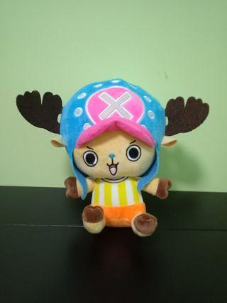 🆕One Piece Tony Tony Chopper Plush Toy (1)