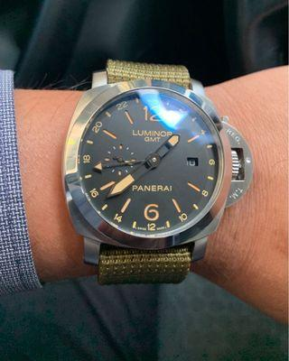 Panerai Gmt with 2 extra straps