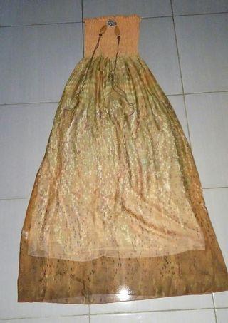 Long dress Branded