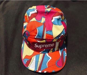 Supreme NYC Abstract Camp Cap
