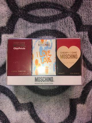 Moschino Miniature Collection 3's