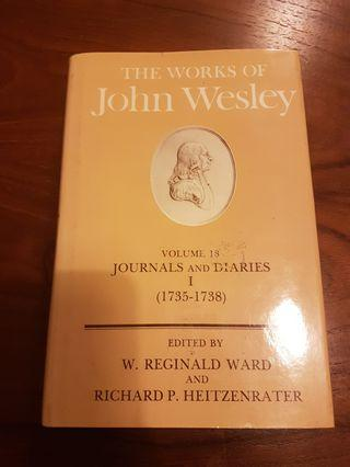 🚚 Works of John Wesley (Journals and Diaries 1735-1738)