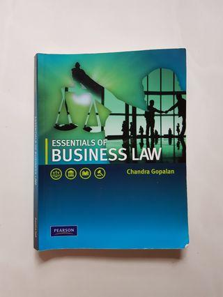 Essentials of business law textbooks