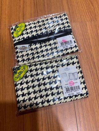 🚚 泰國曼谷包naraya千鳥格紋面紙包名片夾-全新