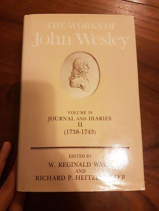 🚚 Works of John Wesley (Journals and Diaries 1738-1743)