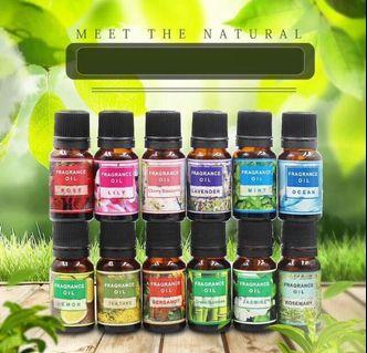 Set of 10 Aroma Therapy Essential Oils